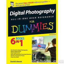 Wiley Publications Book: Digital Photography All-in-One Desk Reference For Dummies
