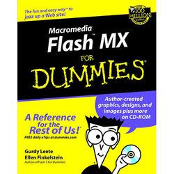 Wiley Publications Macromedia Flash MX for Dummies by Gurdy Leete and Ellen Finkelstein