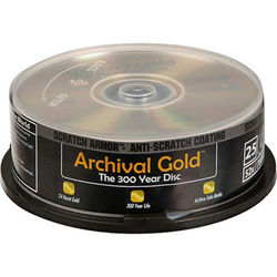 Delkin Devices Archival Gold SA CD-R (25)