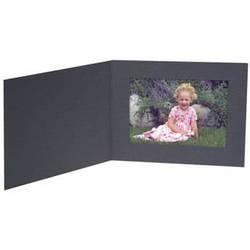 "Collector's Gallery Contemporary Black Portrait Folder w/o Border for 8.5 x 11"""