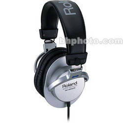 Roland RH-200S - Circumaural Stereo Headphones - Silver