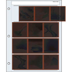 Print File Archival Storage Page for Negatives, 6x6cm - 100 Pack