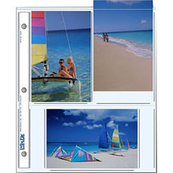 """Print File 46-6P Archival Storage Page for 6 Prints (4 x 6"""", 500-Pack)"""