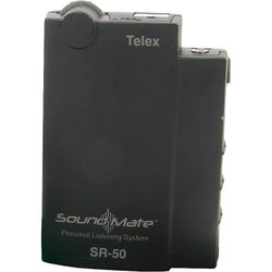Telex SR-50 - Single Frequency Assistive Listening Receiver -  L