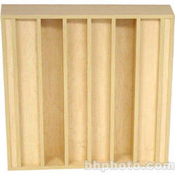 RPG Diffusor Systems QRD PA Diffusor Panel - 2 Pieces (Faux Maple)