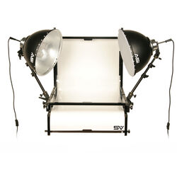 Smith-Victor TST-F2 Two Light Fluorescent Shooting Table Kit (120VAC)