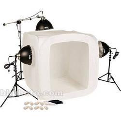 """Smith-Victor FLB-4 1050 Watt 3-Light Fluorescent 48"""" Tent Kit (120V)"""