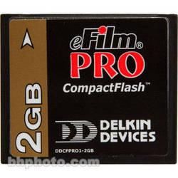 Delkin Devices 2GB eFilm CompactFlash PRO Card