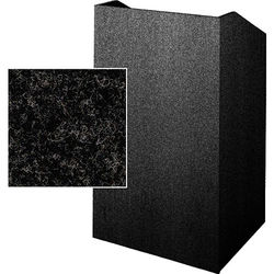 Sound-Craft Systems Floor Lectern (Charcoal)