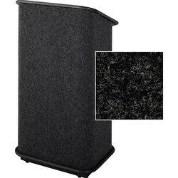 Sound-Craft Systems CFL Floor Lectern (Charcoal/Black)