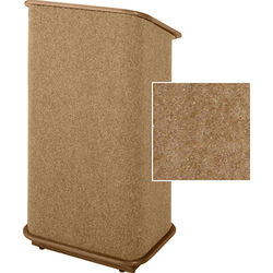 Sound-Craft Systems CFL Floor Lectern (Butternut/Walnut)