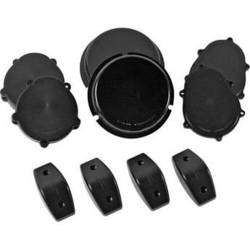 US NightVision HMMWV Blackout Infrared Headlight Filter Kit