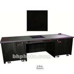 Sound-Craft Systems 1-Bay Custom Presentation Desk (Black Oak)