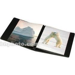 """Print File Presentation Album (8.5 x 11"""", 10 Pages, Black)"""