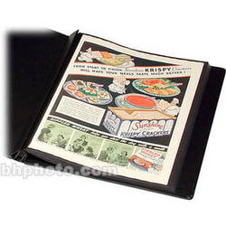 """Print File Polyester Print Preserver with Black Paper Insert - 8.5 x 11"""""""