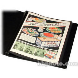 """Print File Polyester Print Preserver with Black Paper Insert - 13 x 19"""""""
