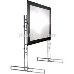 The Screen Works E-Z Fold Truss Style Front or Rear  Projection Screen - 11x31' - 2-Vu
