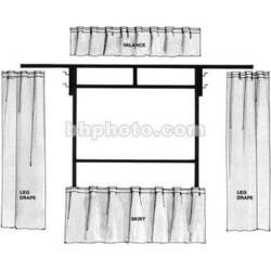 The Screen Works Trim Kit for the E-Z Fold 6x8' Projection Screen (Black)