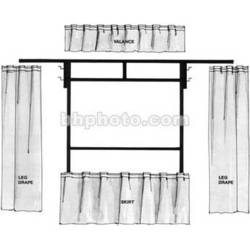 The Screen Works Trim Kit for the E-Z Fold 6x8' Projection Screen (Burgundy)
