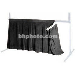 """The Screen Works 48"""" Skirt for the 80x135"""" E-Z Fold Projection Screen-Black"""