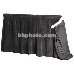 "The Screen Works 48"" Skirt for E-Z Fold Truss Projection Screen-16'x27'6""- Black"