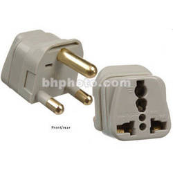 Travel Smart by Conair Grounded 3-Prong to Type M Travel Adapter