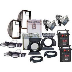 K 5600 Lighting Joker-Bug 400W HMI Pair - 2 Light, 2 Case Kit
