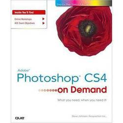 Pearson Education Book: Adobe Photoshop CS4 on Demand by Steve Johnson