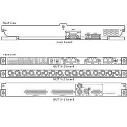 Panasonic WJ-PB65M16 Video Output Board for WJ-SX650
