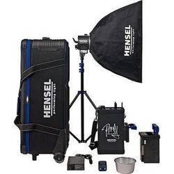 Hensel Porty Premium Plus 1200 Watt/Second AS Battery Radio Slave Strobe Kit