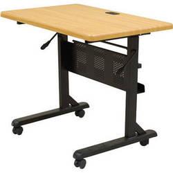 "Balt Flipper Table, Model 3624-29.5 x 36 x 24""  (Black Powder-coat)"
