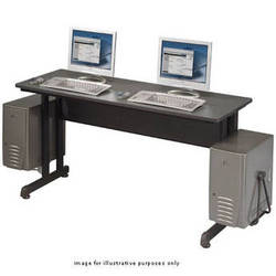 "Balt PJ - Training Table and Workstation - 55 x 19.75"" (Black Powder-coat )"