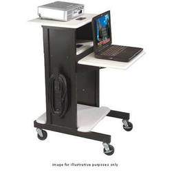 Balt Presentation Cart (Gray/Black)