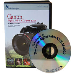 Blue Crane Digital DVD: Training Guide for the Canon Digital Rebel XTi Camera