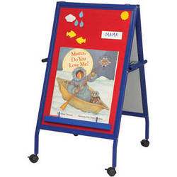 Best Rite MFE (Magnetic Flannel Easel) on Wheels, Model 33294