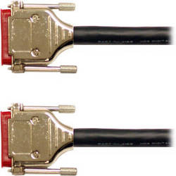 Mogami Gold AES/EBU DB-25 to DB-25 Format Crossover Cable - 5'