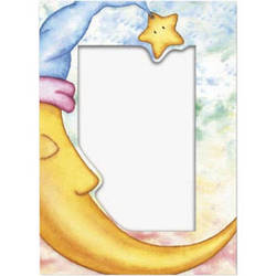 Collector's Gallery Photo Insert Bedtime Moon Card