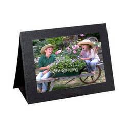 "Collector's Gallery Grandeur Easel Frame -without Foil Window Border  Model PF5100-64  - for 6 x 4"" Print  (Landscape Format)"