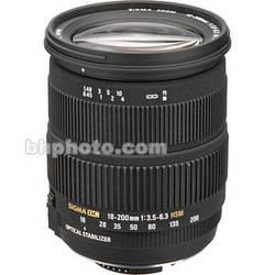 Sigma 18-200mm f/3.5-6.3 DC OS HSM Lens for Nikon Digital SLR
