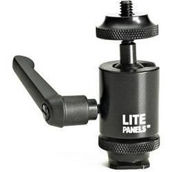 Litepanels Mini Ball Mount Adapter