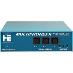 Henry Engineering MultiPhones II - Multi-User Distributed Headphones System