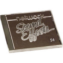Sound Ideas Sample CD: Network Sound Effects  - People (Disc 54)