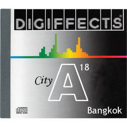Sound Ideas Sample CD: Digiffects City SFX - Bangkok (Disc A18)