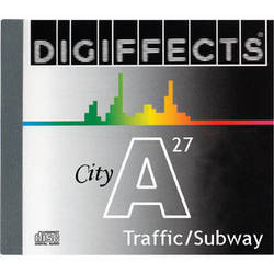 Sound Ideas Sample CD: Digiffects City SFX - Squares, Streets, Traffic, Subways & Train Stations (Disc A27)