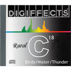 Sound Ideas Sample CD: Digiffects Rural SFX - Birds, Water and Thunder (Disc C18)