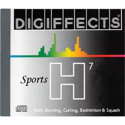 Sound Ideas Sample CD: Digiffects Sports SFX - Golf, Bowling, Curling, Badminton & Squash (Disc H07)