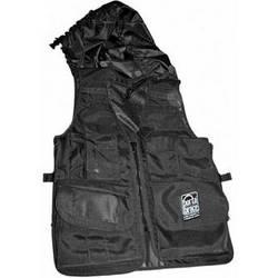 Porta Brace Video Vest with Hood (X-Large, Black)