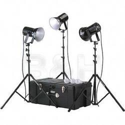 Smith-Victor K82 3-Light 750 Watt Ultra Cool Portable Kit
