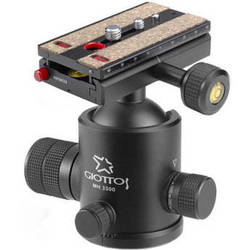 Giottos MH-3300 Pro Series II Ballhead with MH-658 Quick Release