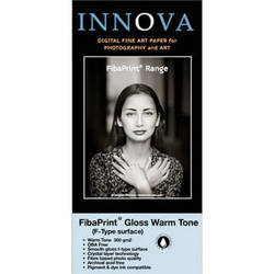 "Innova FibaPrint Warm Glossy Inkjet Photo Paper (300 gsm) 17x22"" - 50 Sheets"